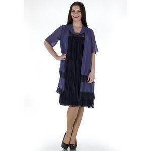 Plus Size Romantic Dress - La Mouette